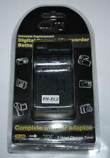 INOV8 Compatible  Battery Charger + CAR ADAPTER for NIKON  EN-EL2 BC1151 - NEW