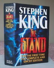 Stephen King THE STAND (Complete and Uncut Edition) Hodder 1st Edition 1990 HB