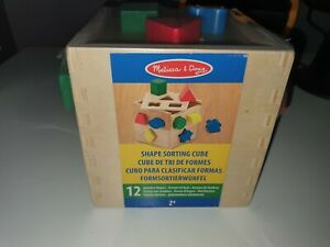 shape sorting cube baby toy