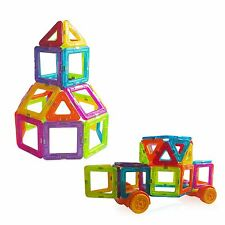 126 Pcs MINI Magnetic Building Blocks Toys Construction Stacking Educational Set
