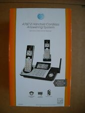 NEW AT&T CL83215 DECT 6.0 2-Handset Expandable Cordless Phone Digital Answering