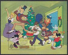 Lesotho 1982 ** Bl.16 Weihnachten Comic Mickey mouse Walt Disney [st2767]