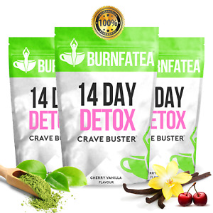 Cherry Vanilla TEATOX - 14 DAY CRAVE BUSTER WEIGHT LOSS TEA, SLIMMING DIET TEA