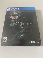 PS4 Death Stranding Special Edition w/ SteelBook, New & sealed