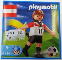 Playmobil 4714 - Fußballspieler - Österreich - NEU NEW OVP