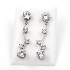 46369c37df3c Castellano Jewels Pendientes Mujer Oro 18 k Con cristales de Swarovski
