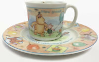 Royal Doulton Winnie the Pooh Disney Cup and Plate Birthday Collection 2001