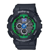 Casio Baby-G * BA120-1B Sporty Color Black Anadigi COD PayPal