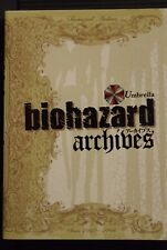 JAPAN Capcom: Resident Evil / biohazard archives -Revised Edition- (Book)