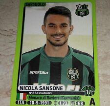 FIGURINA CALCIATORI PANINI 2014/15 SASSUOLO SANSONE ALBUM 2015