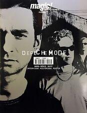 Depeche Mode Magazine Magic Hors Série (2001) - Interview, Historique, Poster