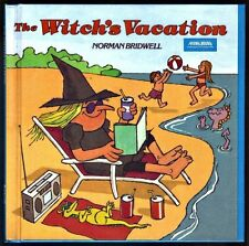 Children's Scholastic Book ~ THE WITCH'S VACATION ~ Norman Bridwell HARDCOVER