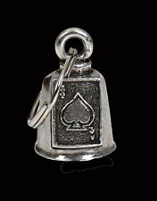 Ace of Spades GREMLIN BELL  with a velvet pouch FOR HARLEY DAVIDSON BIKER BELL