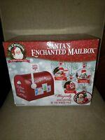 Mr. Christmas Santa's Enchanted Mailbox Santa's Letter Decoration Makes Sounds