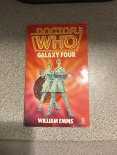 Oop Paperback Book - Doctor Who - Galaxy Four - William Emms - #104 - Target