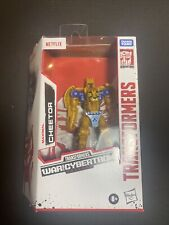 TRANSFORMERS CHEETOR WFC NETFLIX WAR FOR CYBERTRON NEW HASBRO Sealed Htf Wow FS