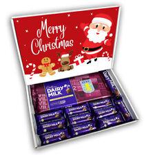 Aston Villa Cadburys Dairy Milk Chocolate Bars Gift Box Hamper Christmas Present