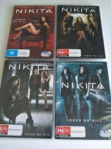 Nikita - Season 1-4 (Complete Series) (17 DVD) REGION 4