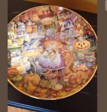 Franklin Mint Heirloom Porcelain Plate Scardy Cat Bill Bell