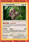 Gouroutan HOLO 120pv 113/149 Soleil et Lune Carte Pokemon Rare neuve FR