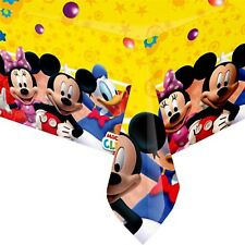 Boys Girls Toddler Birthday Party Mickey Mouse Clubhouse Tableware Tablecover