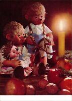 Ansichtskarte  Mecki Diehl-Film: Weihnachten Geschenke Stockpferd 1975