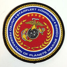 "Star Trek:Starfleet Command Marines  4"" Logo Uniform Patch (STPA-SFC-9-B)"