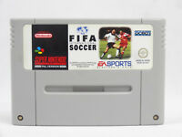 SNES Super Nintendo Fifa International Soccer Cartridge PAL