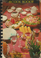 *BLUE ISLAND IL 1975 VINTAGE ELKS CLUB AUXILIARY COOK BOOK *ILLINOIS RECIPES