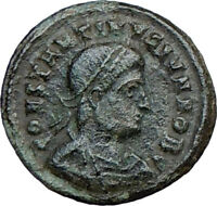 CONSTANTINE II Jr. Constantine the Great son Ancient Roman Coin GATE  i21348