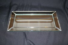 Hi-Home Interiors Mirrored Candle Tray, Plaque or Perfume Vanity