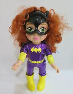 "15"" Toddler Bat Girl Doll DC Comics Jakks Pacific 2017 VGC Pre-Loved Too Cute!"