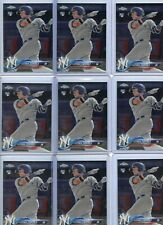 LOT OF (9) 2018 TOPPS CHROME #31 GLEYBER TORRES ROOKIE RC'S, YANKEES, 102320