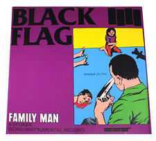 "BLACK FLAG - FAMILY MAN - 12"" VINYL LP - SEALED & MINT RECORD ALBUM"