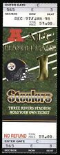 January 3, 1998 Pittsburgh Steelers Vs New England Patriots Playoff Game Ticket