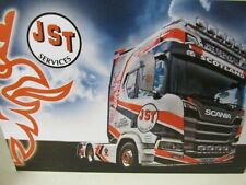 WSI SCANIA R HIGHLINE 6X2 - JST SERVICES - LTD EDITION - 1:50 SCALE.