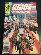 Gi-joe Yearbook#1 Incredible Confition 8.5(1985) Micheal Golden Covers