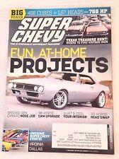 Super Chevy Magazine Camaro Nose Job October 2011 030417NONRH