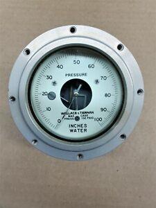Wallace &Tiernan Pennwalt 62D-4C-0100 Differential Pressure Indicator