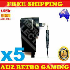 5x New Power Supply Plug Adapter Cable Cord lead For ATARI 2600 Console