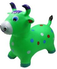 INFLATABLE JUMPING RED BULL Bouncy animal, bouncy Green KIDS TOYS