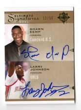 SHAWN KEMP / LARRY JOHNSON NBA 2010-11 ULTIMATE COLLECTION SIGNATURES DUAL (CAVS