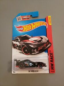 Hot Wheels Race  SRT Viper GTS-R, Black, # 150/250