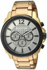 Kenneth Cole Reaction 10031948 Chronograph Gold Tone Steel Men's Watch