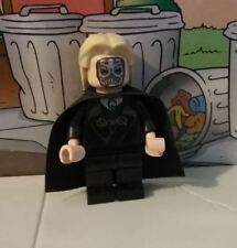 Harry Potter lego mini figure LUCIUS MALFOY with cape 4736 4867 10217