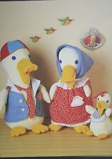 Duck Family Toy Sewing Pattern (PN027)