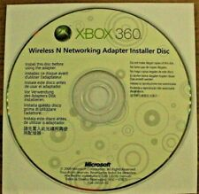 Xbox 360 Wireless N Networking Adapter Installer Disc