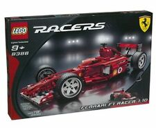NEW Lego Racers 8386 FERRARI F1 Racer 1:10 Sealed - Ships World Wide