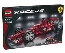 Nuevo Lego Corredores 8386 Ferrari F1 Racer 1:10 Precintado - Naves World Ancho