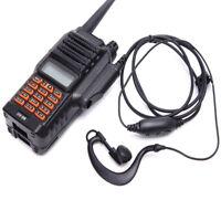 KF_ Two Way Radio Earphone Transceiver for Baofeng Walkie Talkie UV-9R Latest